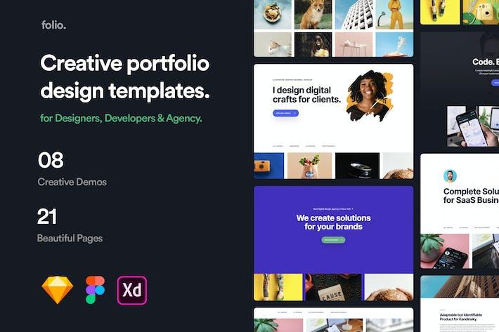 Thumbnail for Folio - Portfolio Design Templates