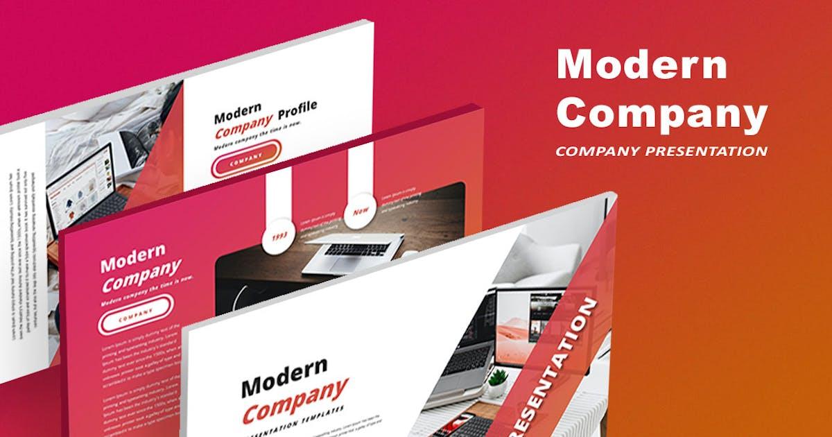 Download Modern Company - Keynote Template by alonkelakon