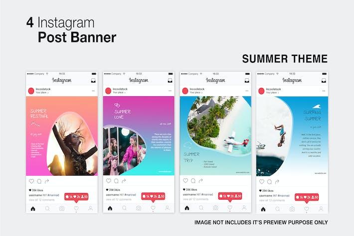 Thumbnail for Publicación de Instagram de verano