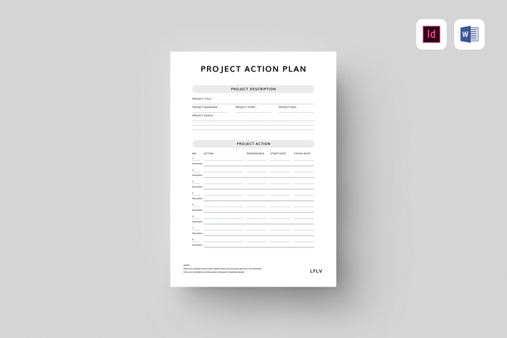 Cover Image For Project Action Plan