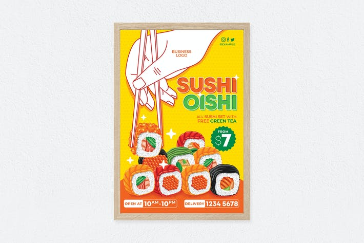 Thumbnail for Sushi Oishi Poster