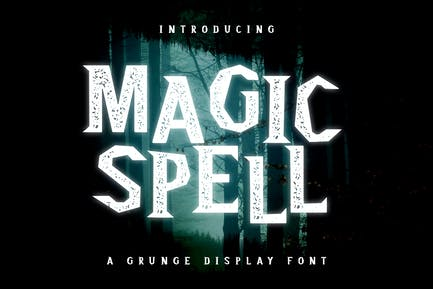 Magic Spell - Magical Grunge Display Police