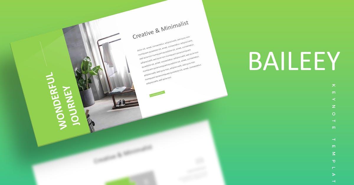 Download Baileey - Keynote Template by aqrstudio