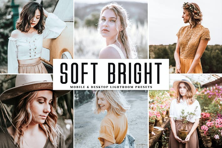 Thumbnail for Soft Bright Mobile & Desktop Lightroom Presets