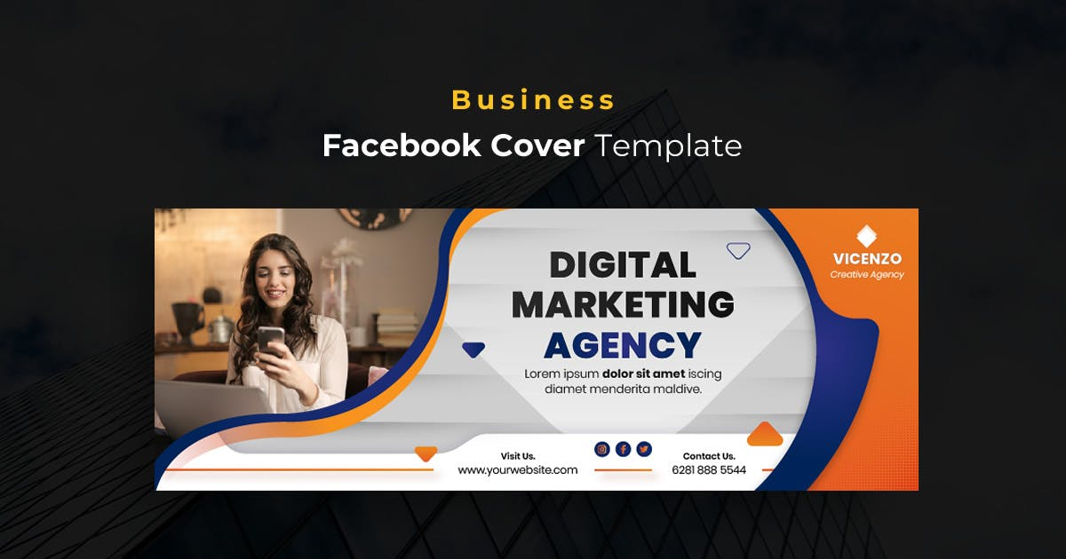 Download Business r27  Facebook Cover Template by youwes