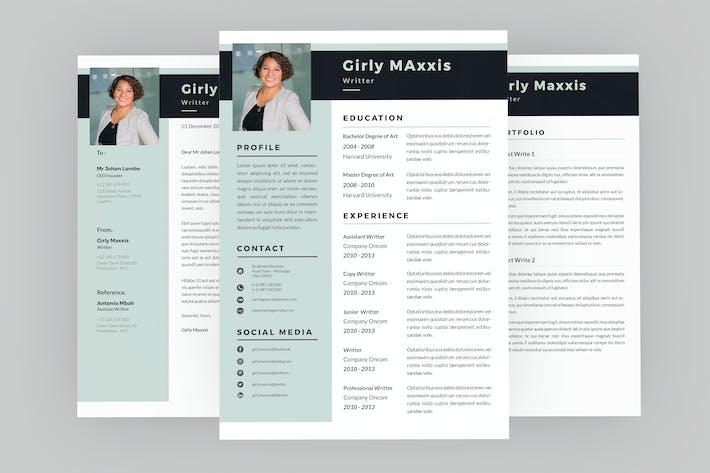 Thumbnail for Glazy Resume Designer