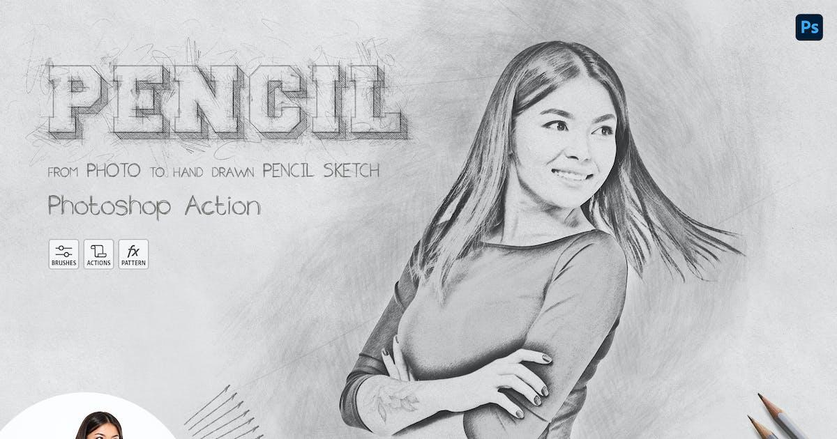 Download Pencil Sketch - Photoshop Action by Sko4