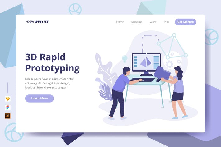 Thumbnail for 3D Rapid Prototyping - Landing Page