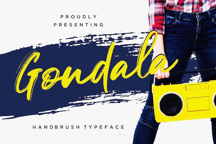 Thumbnail for Gondala Handbrush Typeface