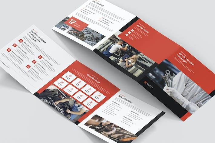 Thumbnail for Brochure – Mechanic Tri-Fold Square
