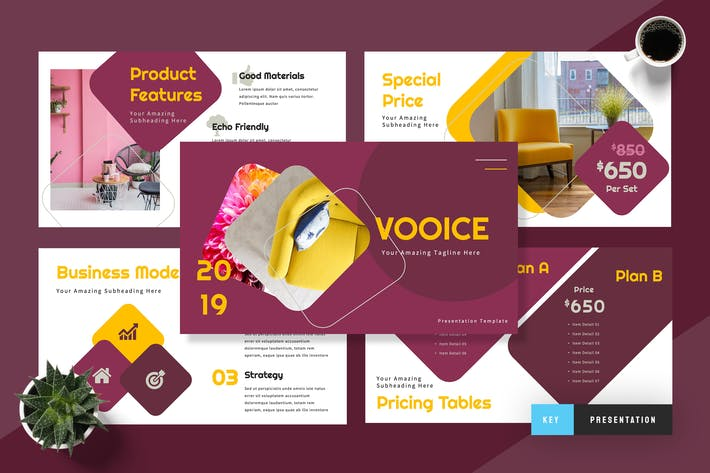 Thumbnail for Vooice Furniture Keynote Presentation