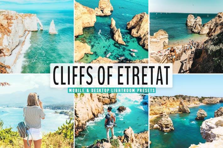 Thumbnail for Cliffs of Etretat Mobile & Desktop Lightroom Prese