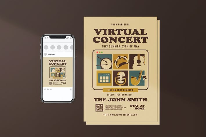 Virtual Concert Package