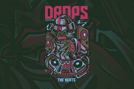 Drops the Beats