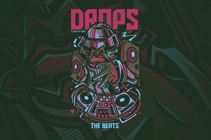 Cover Image For Drops the Beats