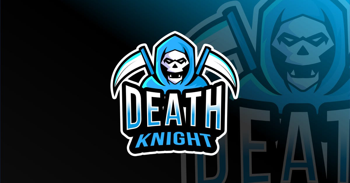 Download Death Knight Esport Logo Template by IanMikraz