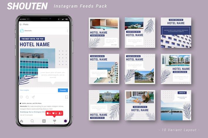 Shouten - Instagram Feeds Pack
