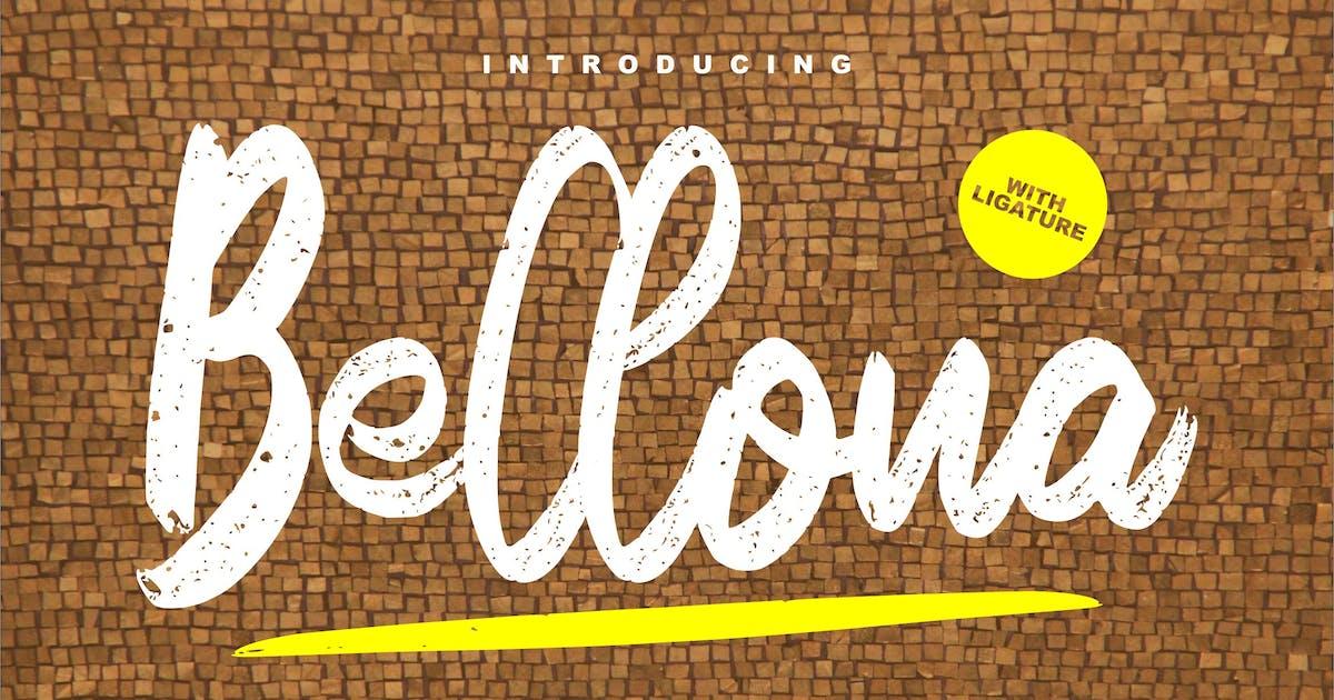 Download Bellona Texture Fontype by Fannanstudio