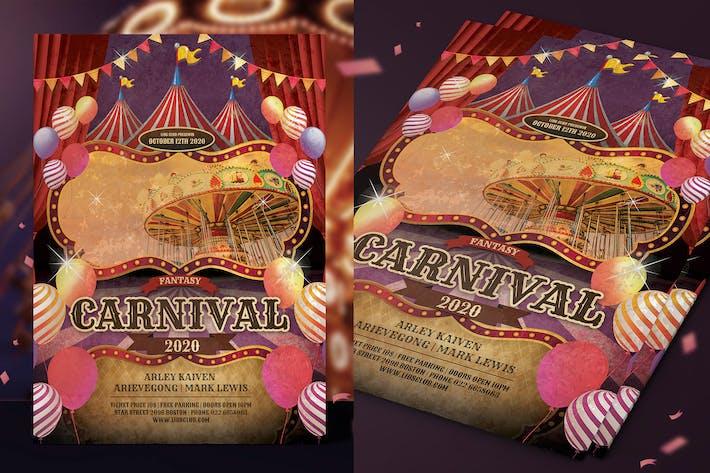 Thumbnail for Vintage Carnival Flyer