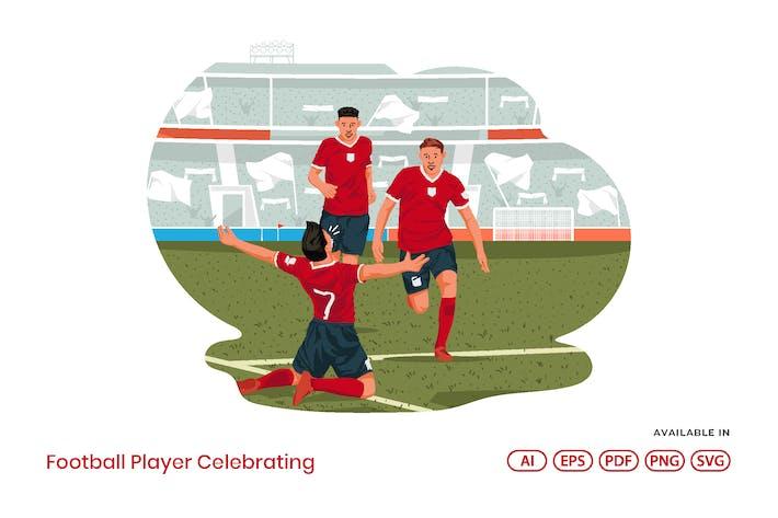 Thumbnail for Football Player Celebrating