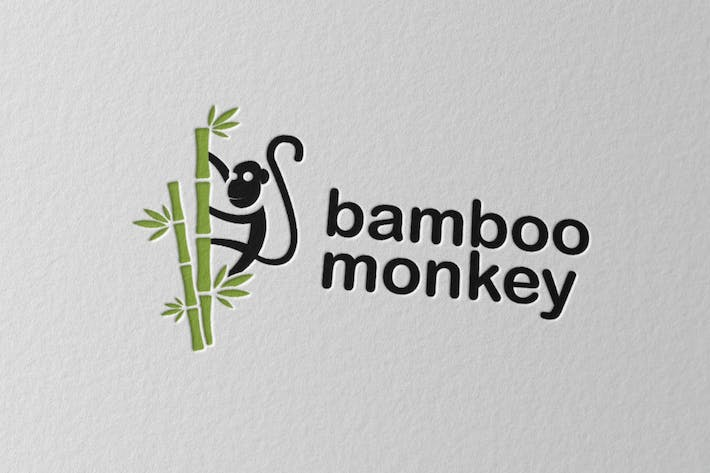 Cover Image For Bamboo Monkey Logo