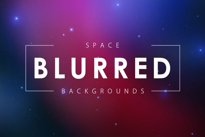 Thumbnail for Blurred Space Backgrounds