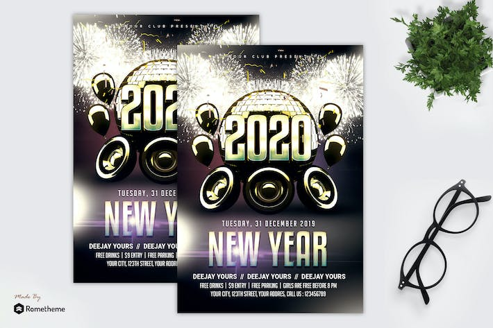 Thumbnail for New Year Flyer MR