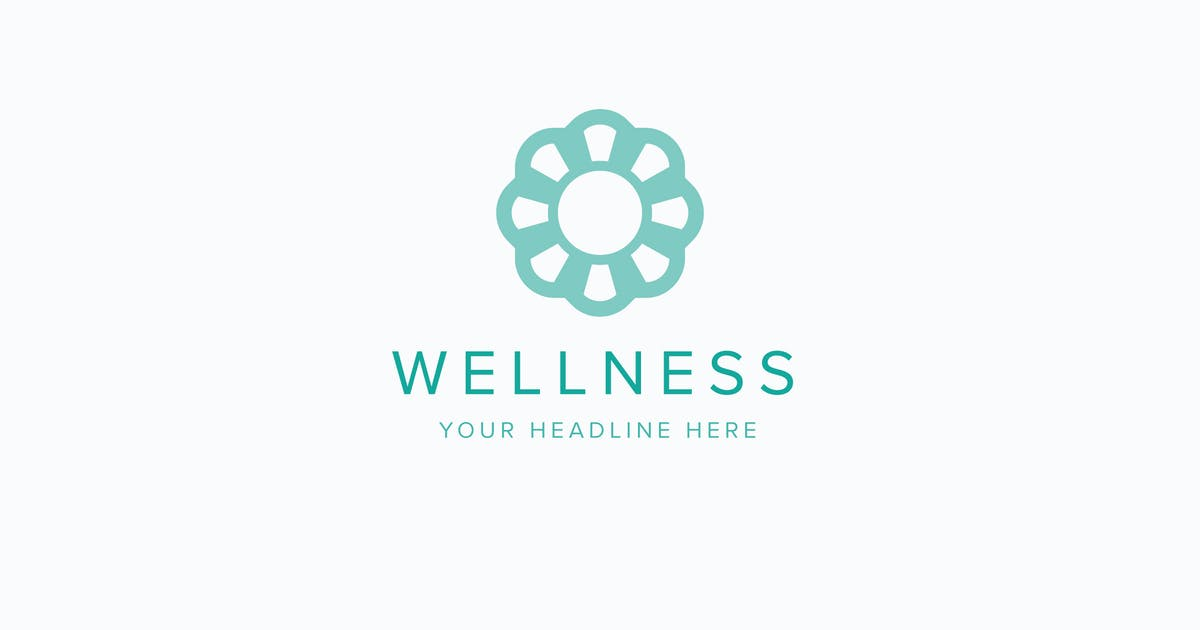 Download Wellness Logo Template by Pixasquare