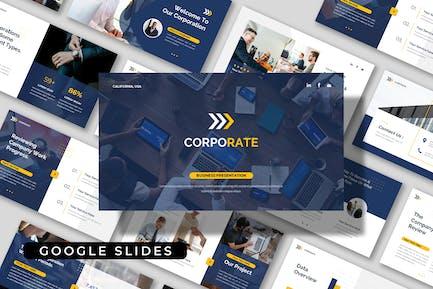CORPORATE - Company Business Google Slides