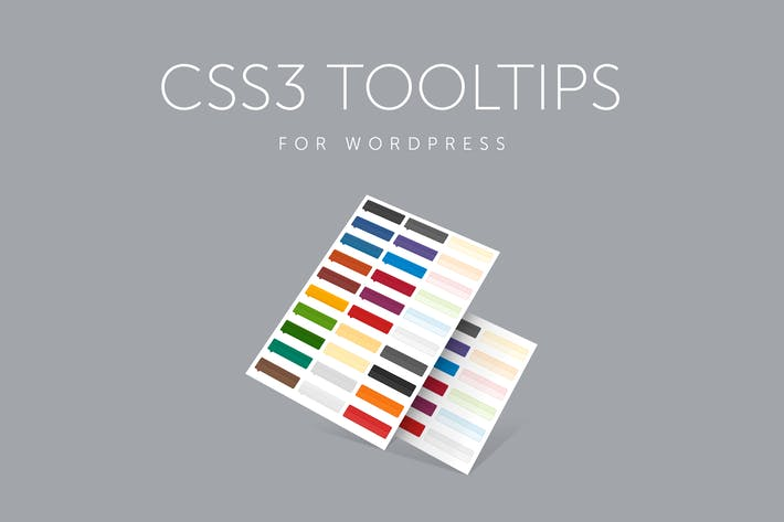 Thumbnail for CSS3 Tooltips for WordPress