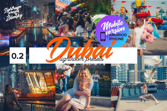 Thumbnail for DUBAI  - Mobile Lightroom Presets