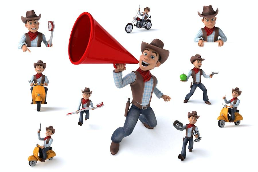 10 lustige Cowboys!