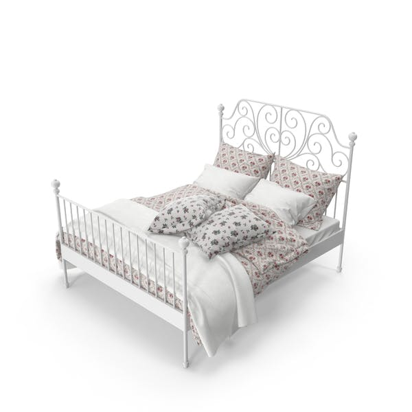 Cover Image for Wrought Iron Bed