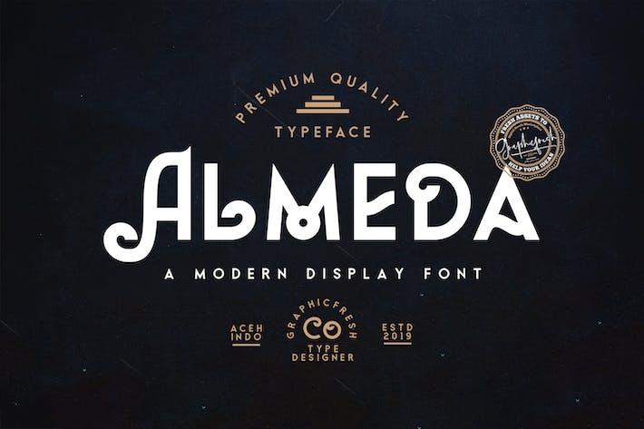 Thumbnail for Almeda // A Modern Vintage Font
