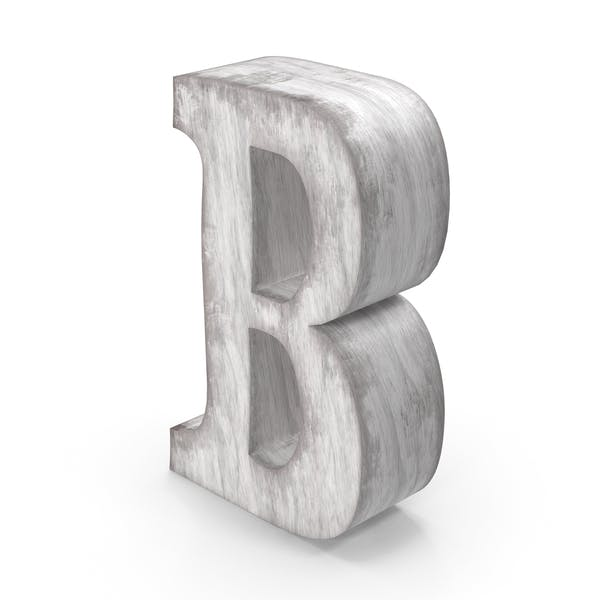 Wooden Decorative Letter B
