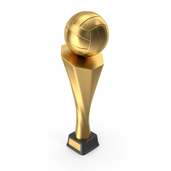 Trophy Cup Volleyball Gold
