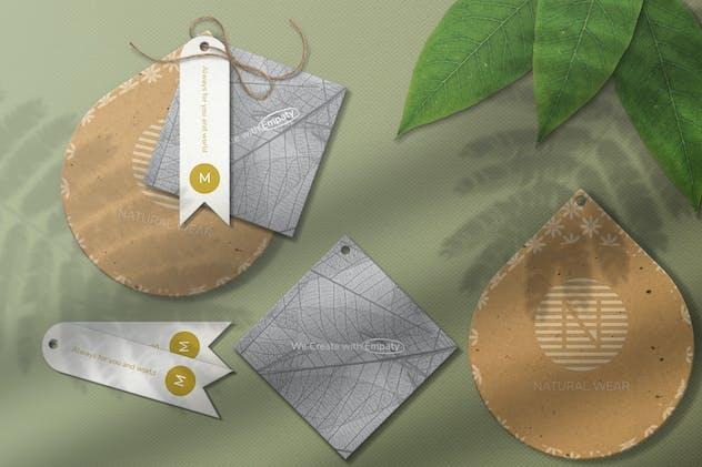 Label Card Mockup