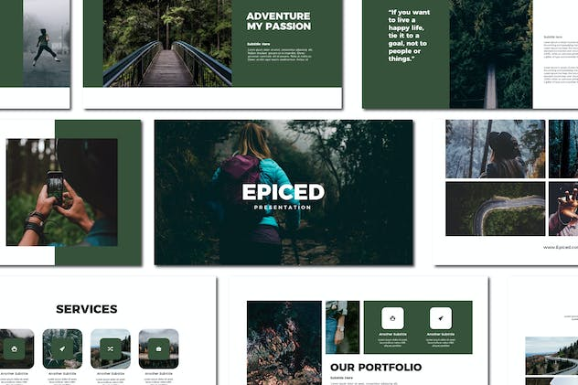 Epiced - Keynote Templates