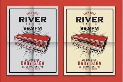 Radio Station Flyer