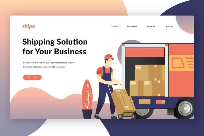 Thumbnail for Shipping Solutions - Landing Page