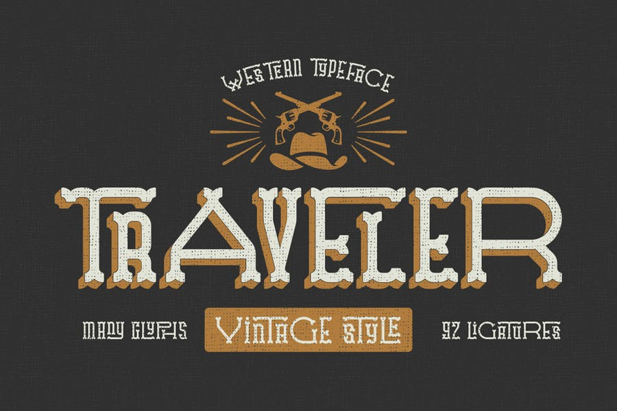 Traveler typeface