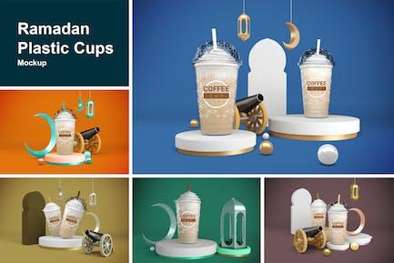 Ramadan Plastic Cups