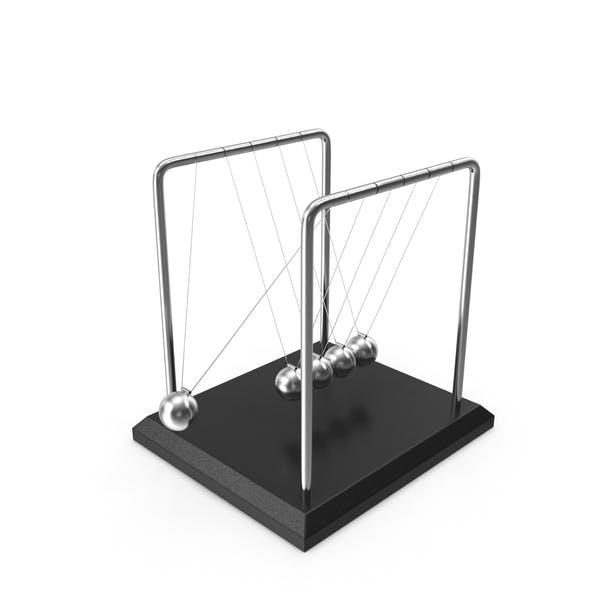 Thumbnail for Newton's Cradle Desktop Toy