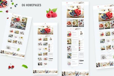 Bizi - A WordPress Theme for Food Bloggers