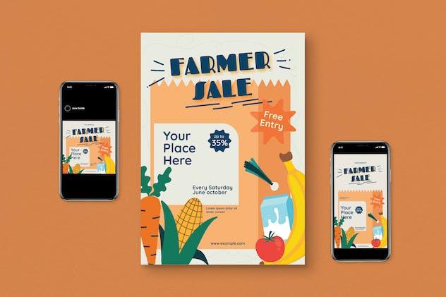 Farmers Sale Flyer Set