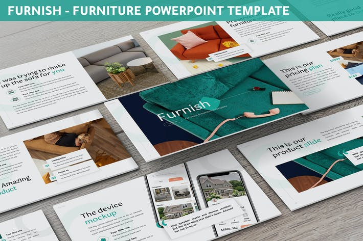 Thumbnail for Furnish - Furniture Powerpoint Template