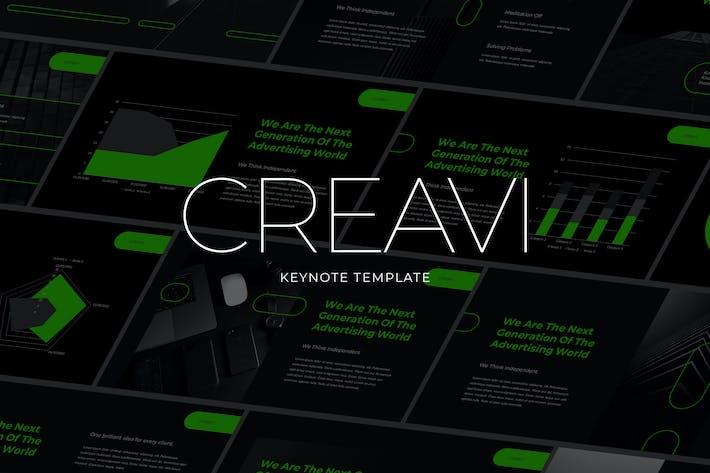 Creavi - Tech Theme Keynote Template