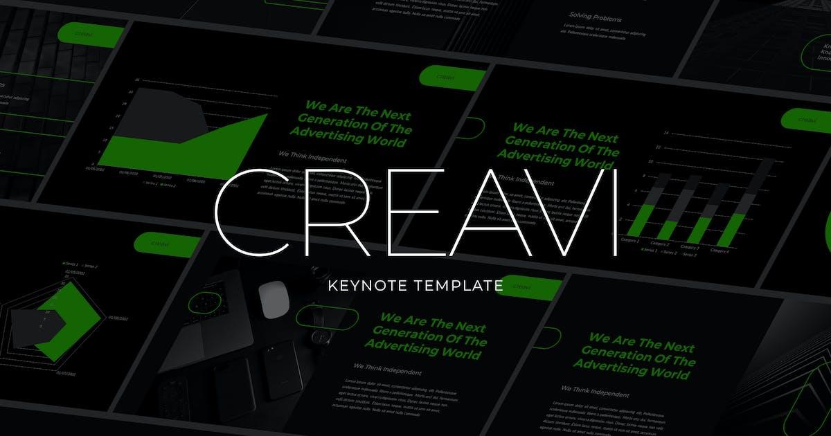 Download Creavi - Tech Theme Keynote Template by Slidehack