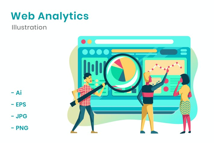 Thumbnail for Web Analytics-Illustration
