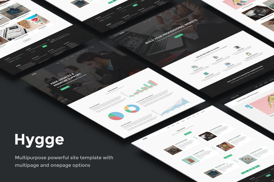 Download Hygge - Multipurpose Single/Multi Page Template by elemis